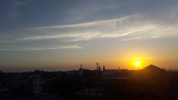 20151013_181143 - Sunset in Stone Town